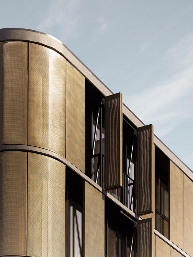 Luna Apartments by Elenberg Fraser in Saint Kilda, Australia