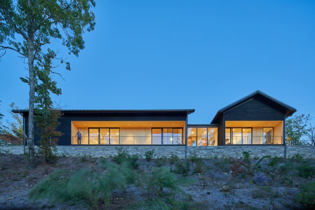Short Mountain House by Sanders Pace Architecture in Maryville, Tennessee