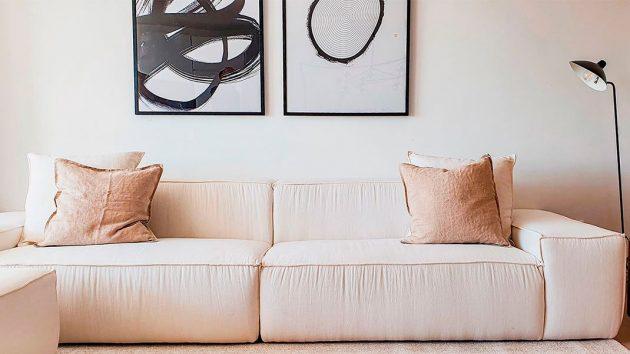 Mediterranean Interior Design In A Luxurious Duplex
