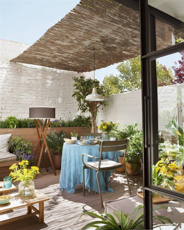 Perfect Outdoor Furniture For Small Terraces