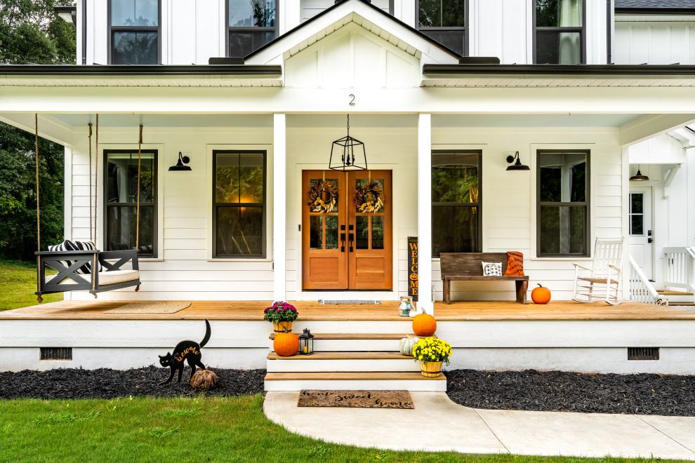 15 Amazing Farmhouse Porch Designs Perfect For Spring Time