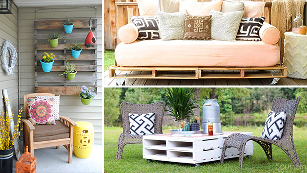 16 Amazing DIY Pallet Wood Furniture Ideas For Your Porch