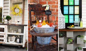 16 Genius DIY Outdoor Bar Ideas You Must Craft For Your Backyard