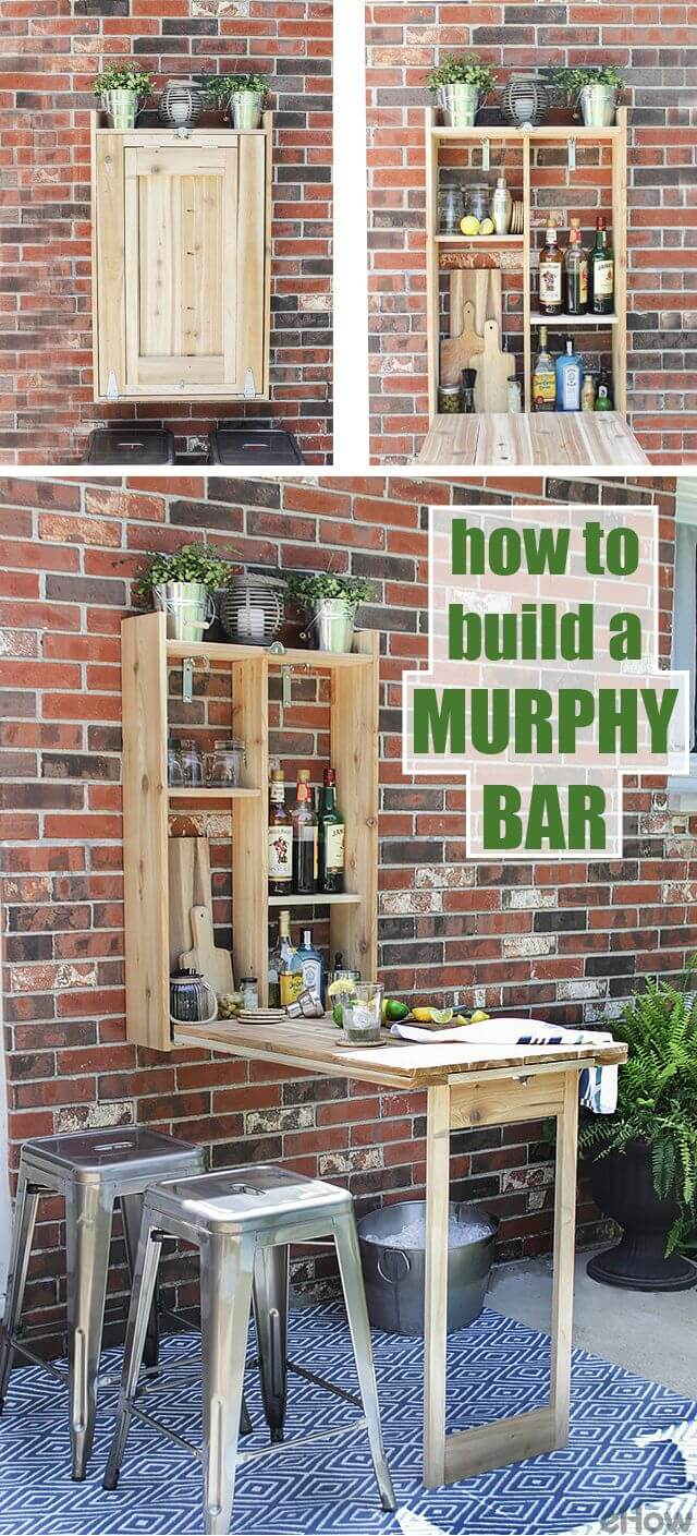 16 Genius DIY Outdoor Bar Ideas You Must Craft For Your Backyard