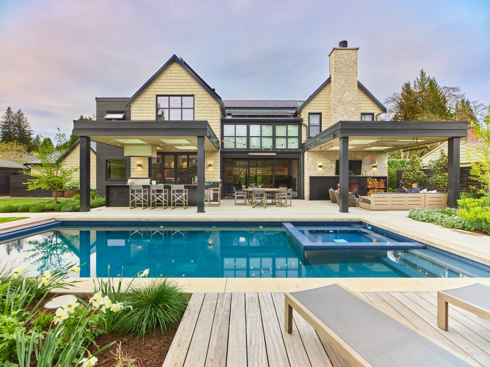 18 Magnificent Farmhouse Swimming Pool Designs You Will Fall In Love With