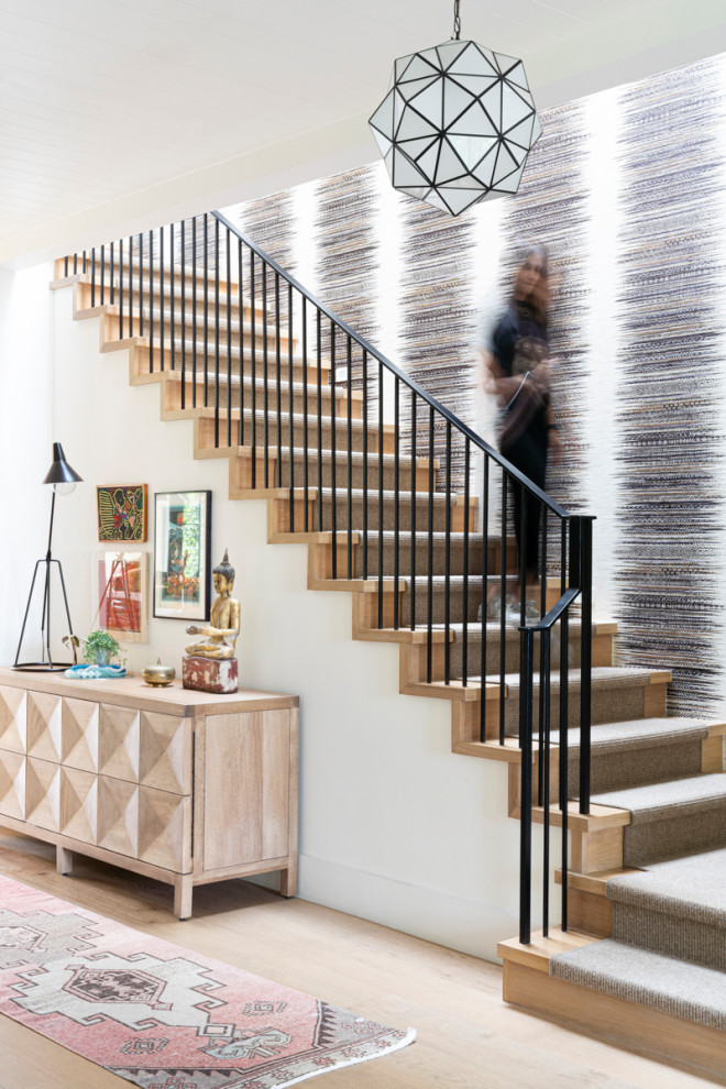 18 Outstanding Farmhouse Staircase Designs That Will Charm You