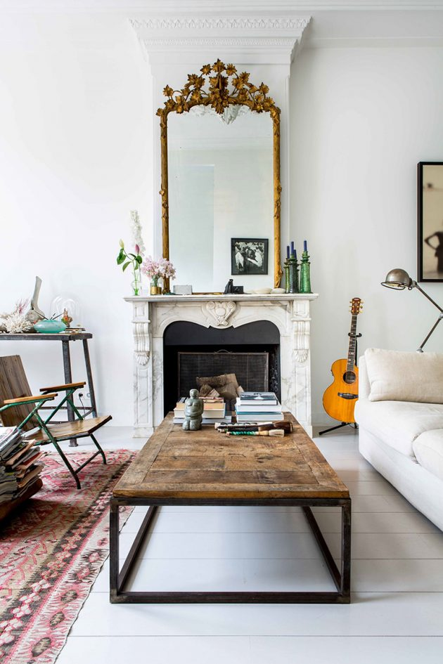 A Bohemian Chic Townhouse That You'll Want To Move Right Now
