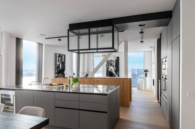 Fabulous Stockholm Duplex With Panoramic Views Of The City Hall