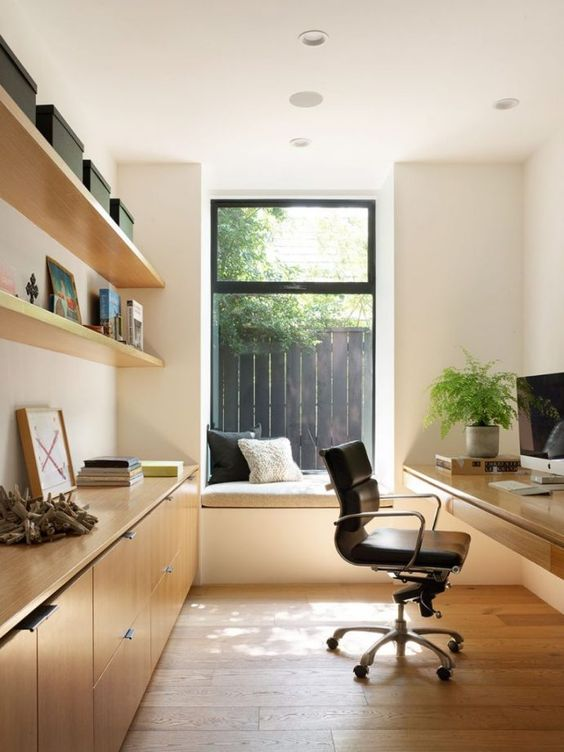 Cozy Offices Equipped To Give The Feeling Of Comfort And Warmth