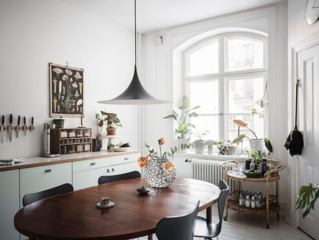 Large Kitchen In Small Apartment