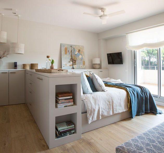 Renovation Of Brightness, Warmth & Multifunctional Furniture