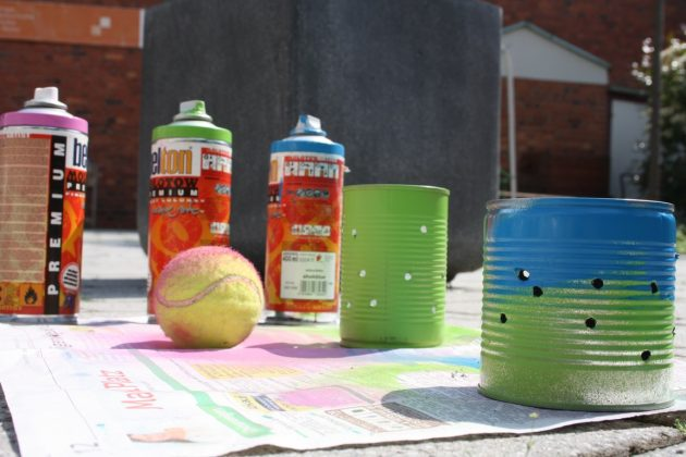 Spray Painting Walls - 5 Tips To Get Started