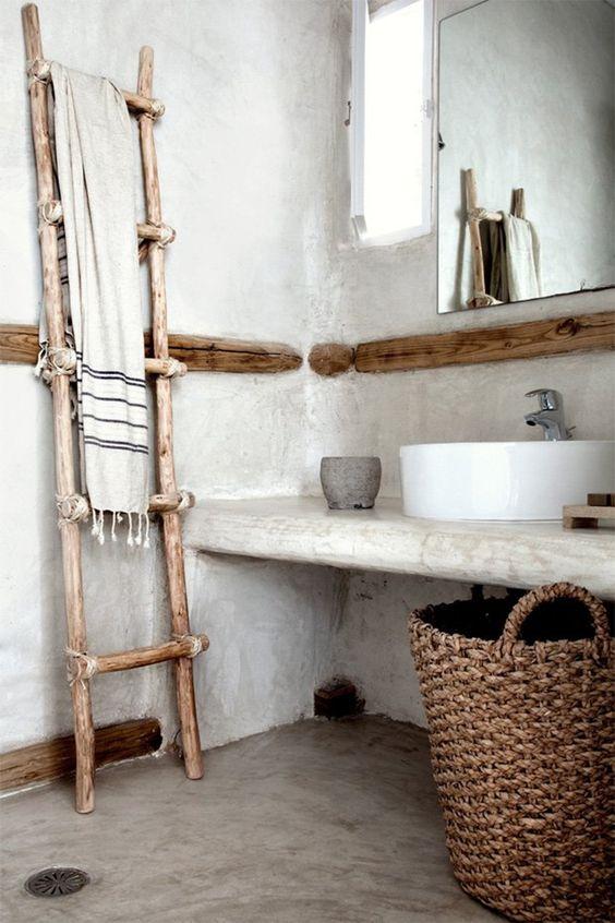 Unique Wabi-Sabi Bathroom
