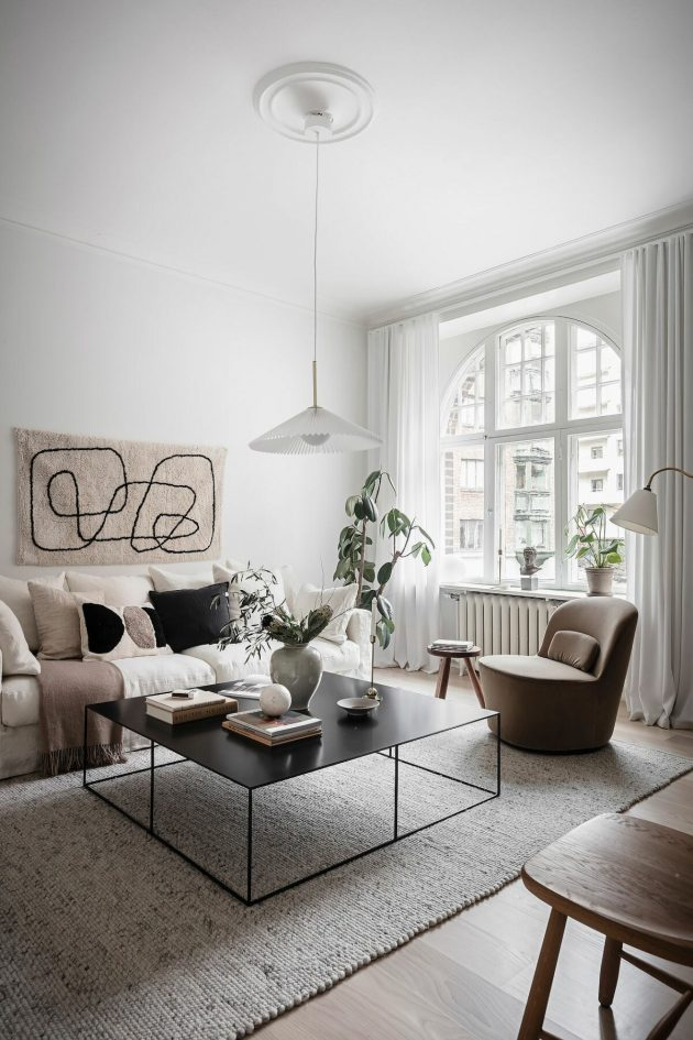 High Ceilings, Large Windows And Good Lighting Is Everything You Need