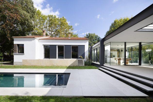 CTN House by Brengues Le Pavec Architectes in Montpellier, France