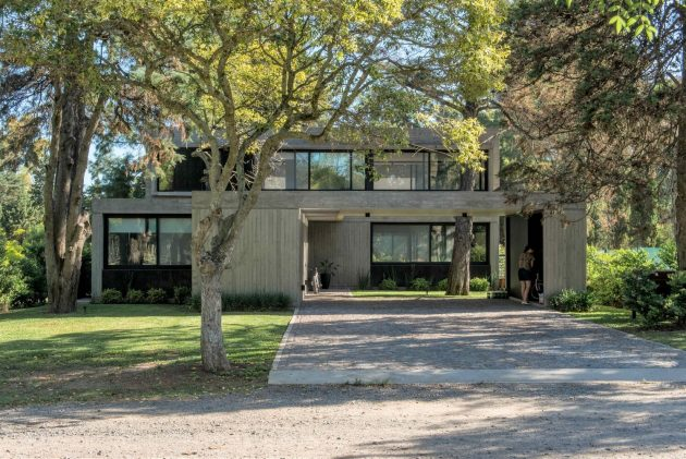 House R by Gianserra + Lima Arquitectos in City Bell, Argentina