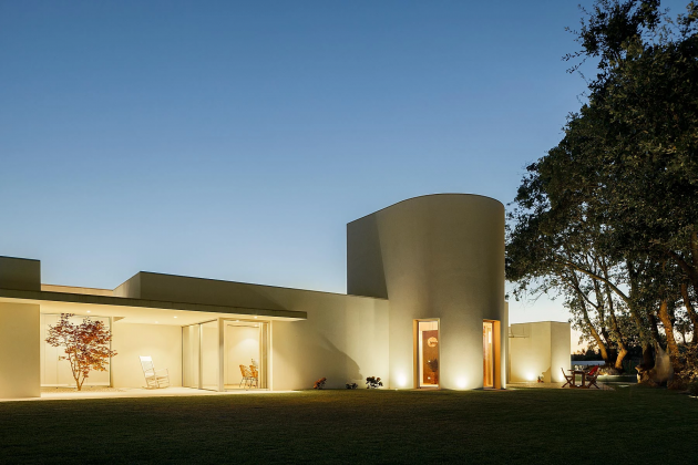 House in Santarém by dp arquitectos in Santarém, Portugal
