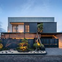 J House by y0 Design Architect in Sidoarjo, Indonesia