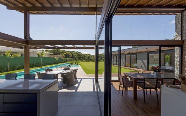 JP Residence by Sarau Arquitetura in Aracatuba, Brazil