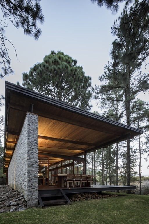Open Valley House by RAVSTUDIO in Tapalpa, Mexico