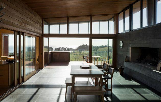 Tiri House by Strachan Group Architects on Waiheke Island, New Zealand