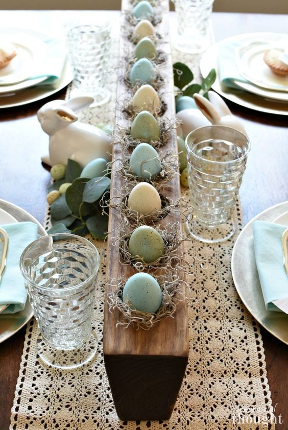 Styles How To Decorate Your Easter Table And A Gallery To Be Inspired