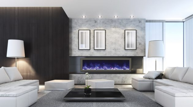 Add Electric Fireplace to Your Living Area and Upgrade Its Curb Appeal