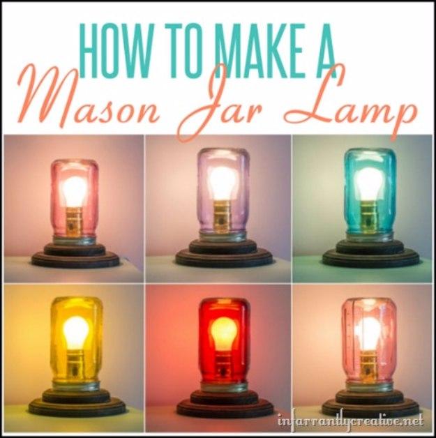 14 Eye-Catching DIY Mason Jar Light Ideas You Will Enjoy Crafting This Weekend