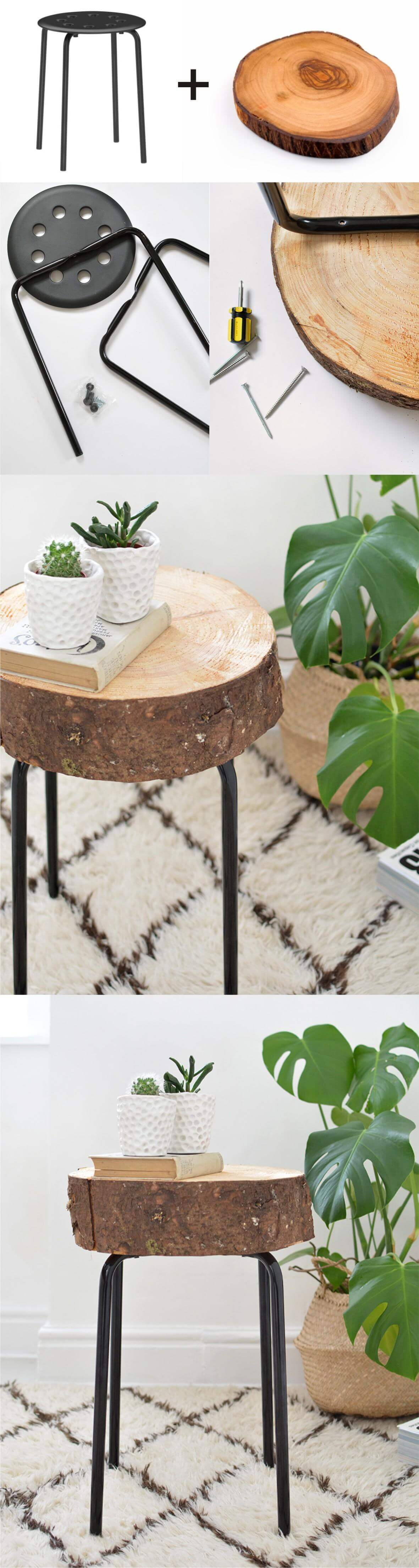 15 Outstanding DIY Side Table Projects You Will Not Be Able To Resist