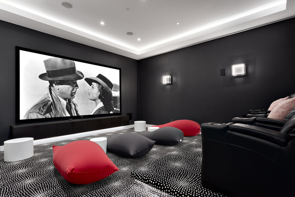 16 Beautiful Coastal Home Theater Designs You Never Knew You Needed