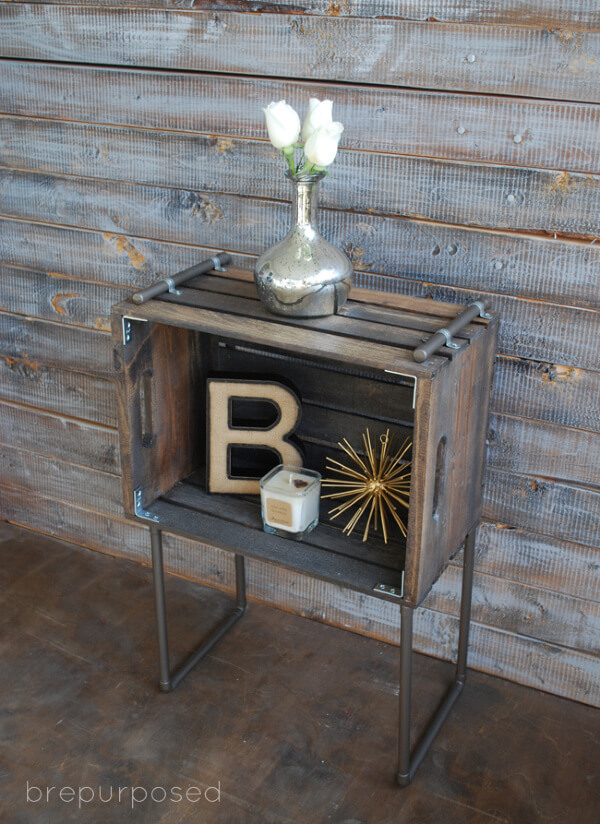 16 Brilliant DIY Wood Crate Crafts You Can Use Anywhere In Your Home