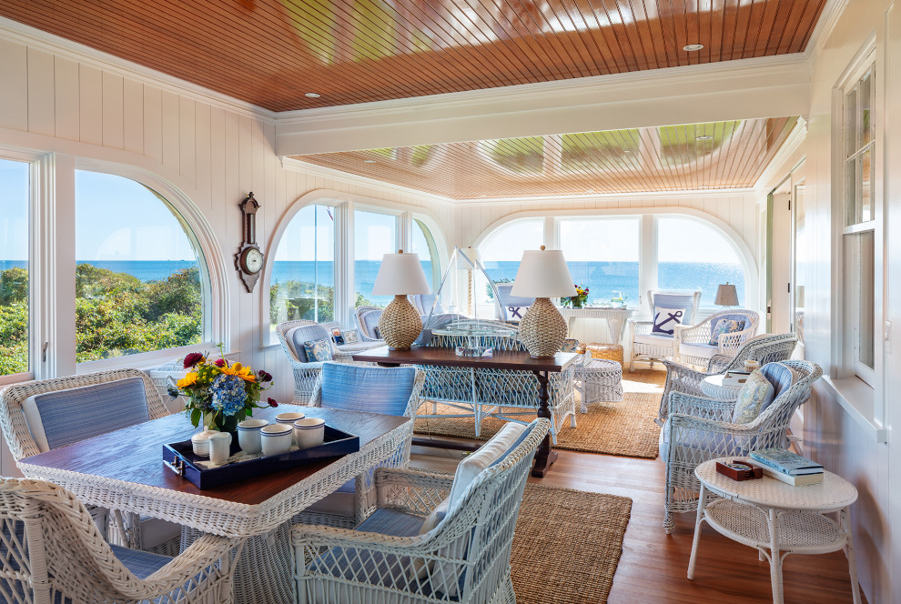 16 Picture-Perfect Coastal Sunroom Designs You Will Adore