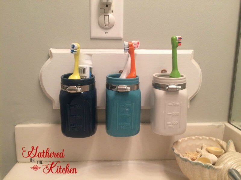 17 Superb DIY Bathroom Storage & Organization Projects To Craft Over The Weekend