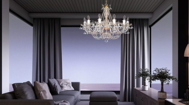 Home Decoration – Tips for Choosing Crystal Chandeliers
