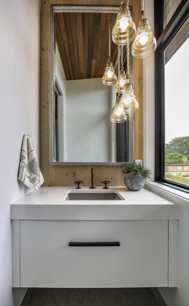 18 Lovely Coastal Powder Room Designs You'll Adore