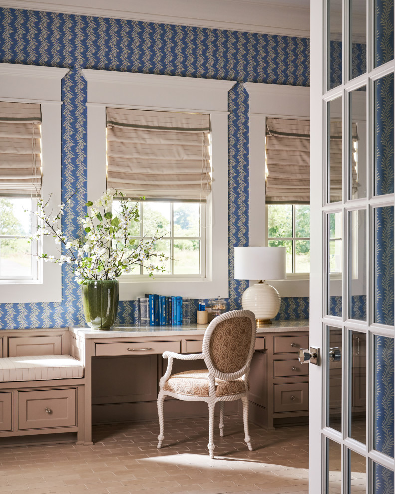 18 Opulent Coastal Home Office Designs To Work In Style