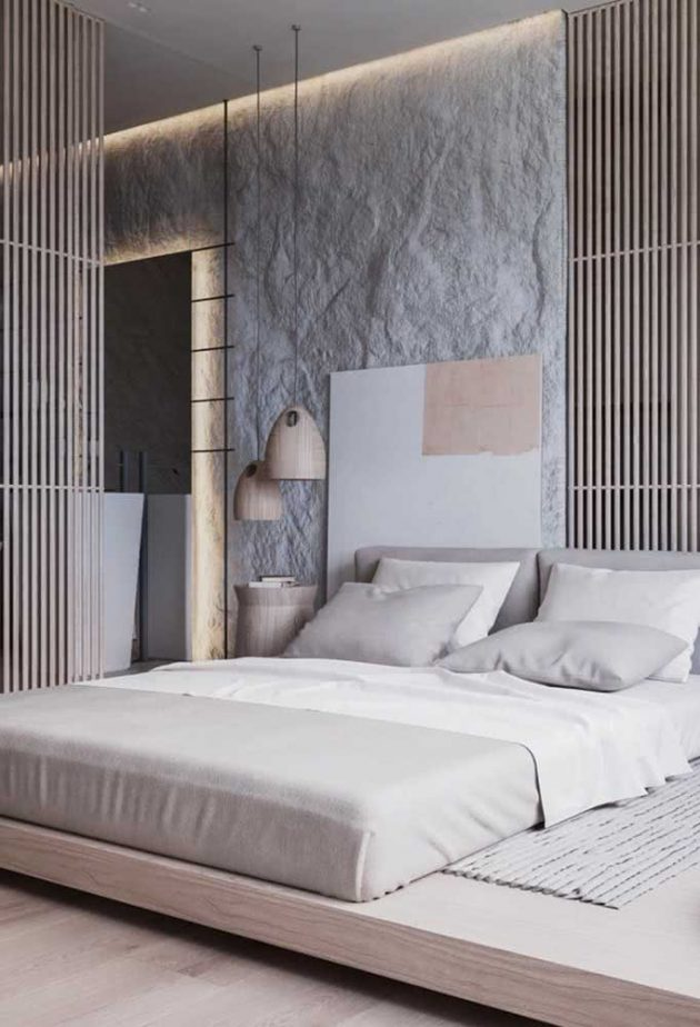 Inspiring Decoration Photos Of Floating Beds You Will Love