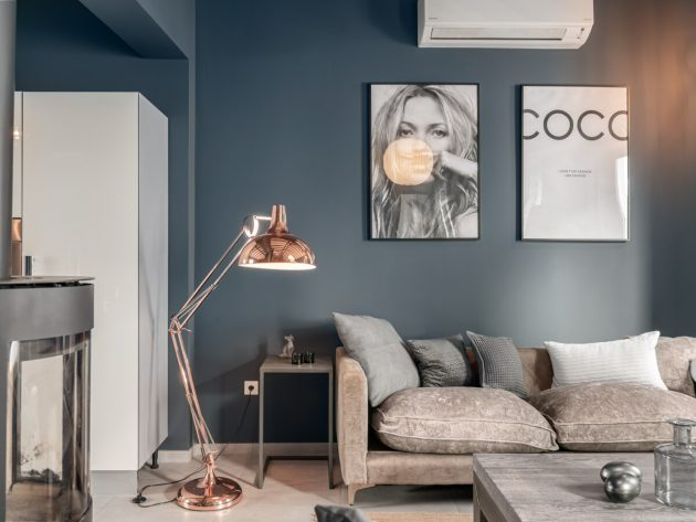 A Very Nordic Apartment In Spain