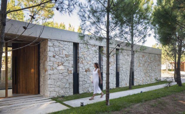 C House by Estudio PKa in Costa Esmeralda, Argentina