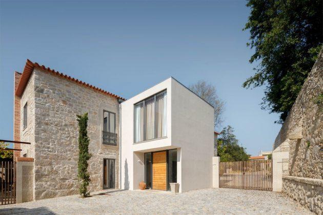 Calcada House by Ren Ito Arq in Porto, Portugal