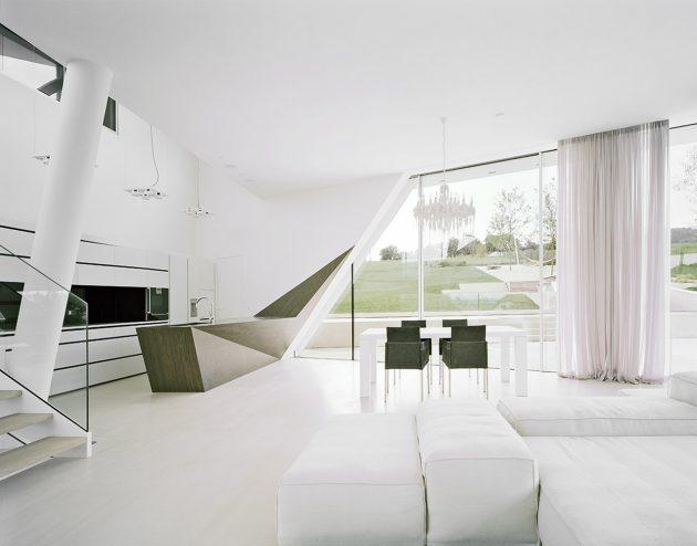 Freundorf Villa by A01 Architects in Judenau, Austria