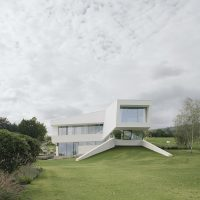 Freundorf Villa by A01 Architects in Judenau, Austria