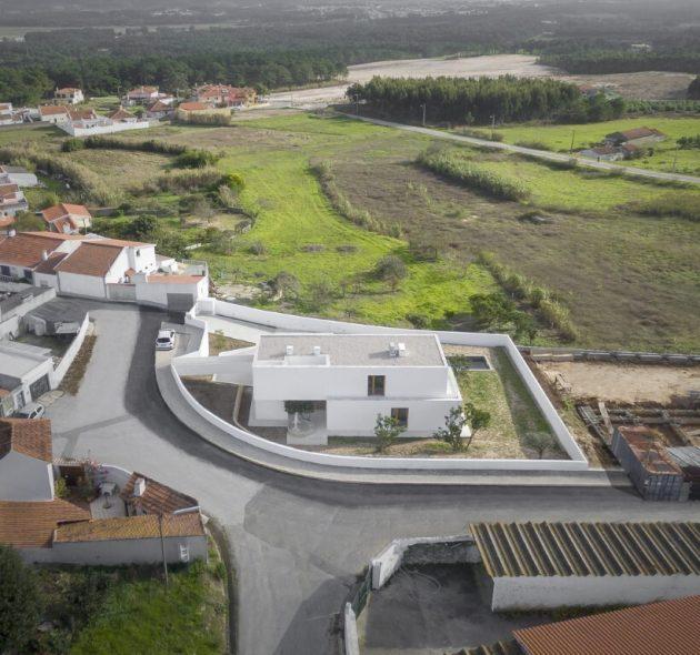 SP House by Goncalo Duarte Pacheco in Salir do Porto, Portugal