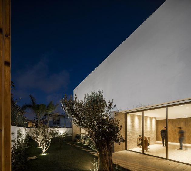 Villa F by Mohamed Amine Siana in Casablanca, Morocco