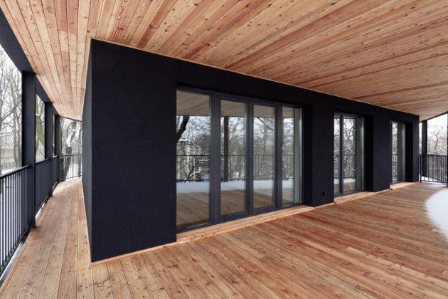 Villa Reden by Maciej Franta in Chorzow, Poland