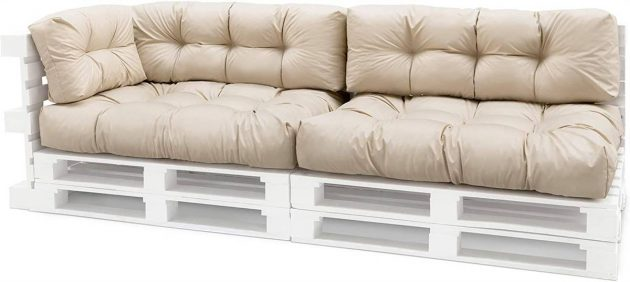 Useful Proposals For Pallet Cushions For DIY Seats And Sofas