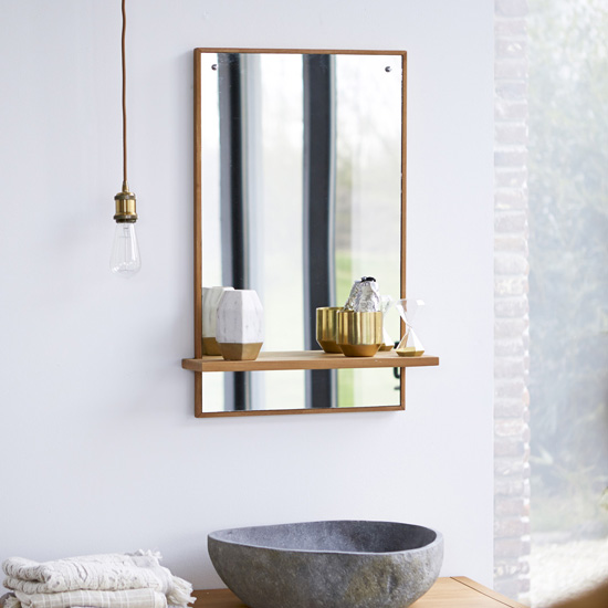 The Mirror With Storage That Reflects An Organized Spirit