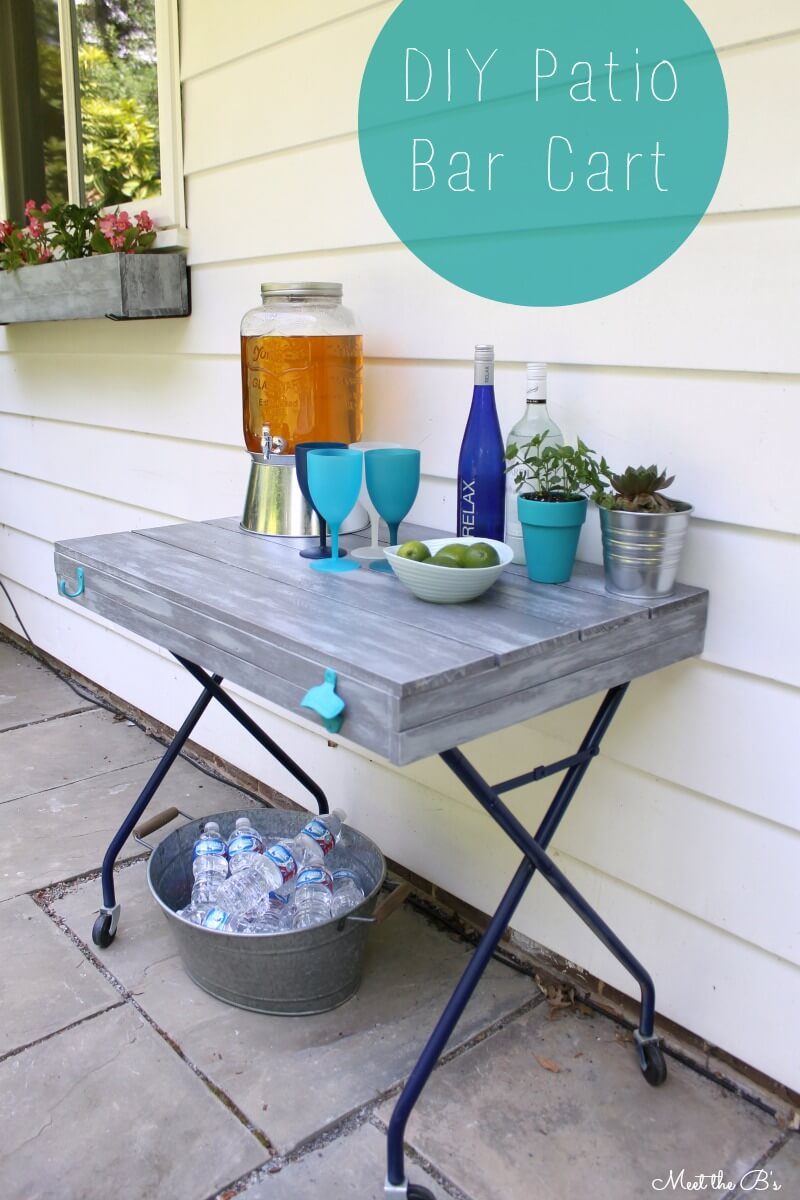 15 Creative DIY Outdoor Bar Projects For The Summer
