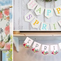 15 Wonderful Spring Banner Designs That Will Refresh Your Porch