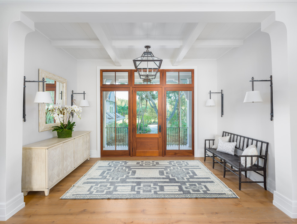 16 Fascinating Coastal Entry Hall Designs That Will Welcome You Inside